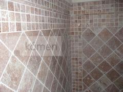Realizace koupelny - Efesus Marble Red